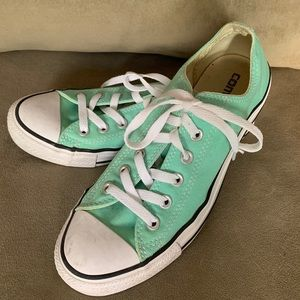 ⭐️ CONVERSE All Star sneakers mint green size 6.5